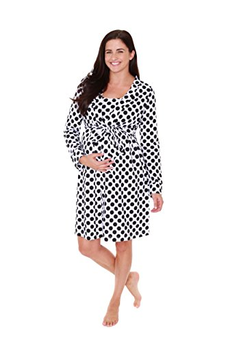 8c4d987555e06 Baby Be Mine Maternity Labor Delivery Nursing Robe Hospital Bag Must Have