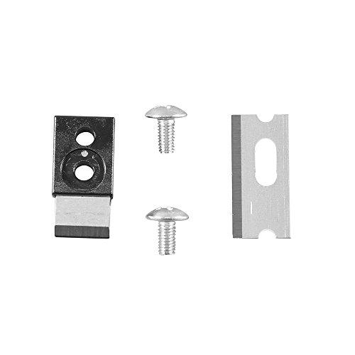 crimps 4, 6 and 8 position modular connectors rj11/rj12 standard and rj45  klein tools pass-thru  elegant dark nickel-plated finish