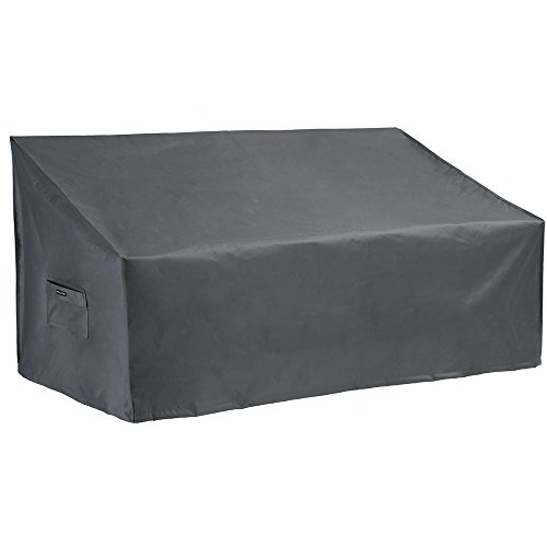 Patio Watcher Small Outdoor Loveseat Bench Cover, Durable